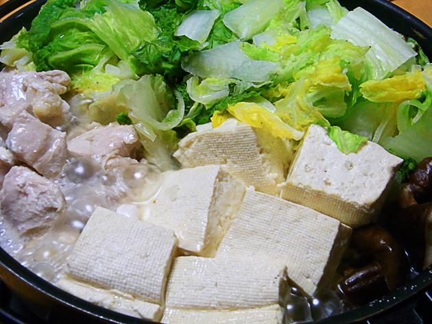 かぴの好きな豆腐鶏鍋
